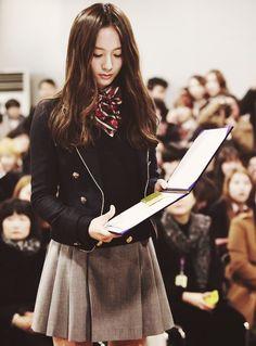 Krystal's uniform