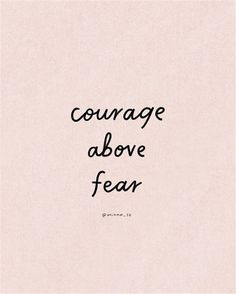 Fear Quotes, Success Quotes, Words Quotes, Quotes To Live By, Love Quotes, Sayings, Small Quotes, Quotes About Courage, Quotes About Fear