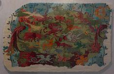 Saint Aubin, Painting, Art, Maria Theresa, Cow, Toile, Cross Stitch, Art Background, Painting Art