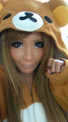Asian milf eye color