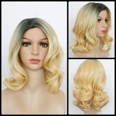 Side Full Long Medium Synthetic Wigs | Cheap Best Synthetic Lace Front Wigs For Women Online Sale | DressLily.com Page 2