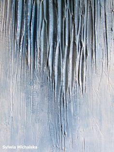 Malarstwo strukturalne, malarstwo abstrakcyjne by Sylwia Michalska