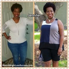 Weight Loss Story: Jennifer lost 25 pounds and went from a size 22 to a size 16.