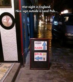 Funny pictures about England's Advertising. Oh, and cool pics about England's Advertising. Also, England's Advertising photos. Funny Quotes, Funny Memes, Hilarious, Jokes, Weekender, Local Pubs, Funny As Hell, I Love To Laugh, Funny Signs