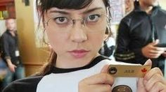 She looks great in glasses… | Community Post: Aubrey Plaza Is A Dream Goddess