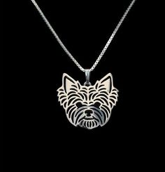 Do you wish you could take your Yorkshire Terrier with you wherever you go? Well now you can! Unique and classic Yorkie design. You don't have to miss your buddy all the time because with this necklac