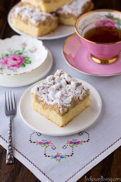 New York-Style Crumb Cake - Just like the Crumb Cake you get from Starbucks.