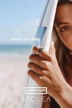 Show your respect for this amazing creature and reveal your fearless side with this adjustable Shark Jaw ring. Sweet and dangerous, our Shark Jaw Ring is the perfect addition to any Ocean lovers's jewelry collection!