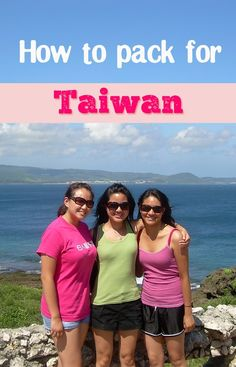 How to pack for Taiwan. Tips for what you should bring including clothes and gear for every season.