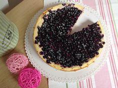 Tvarohový koláč s borůvkami Doughnut, Cheesecake, Food And Drink, Pie, Desserts, Recipes, Torte, Tailgate Desserts, Cake