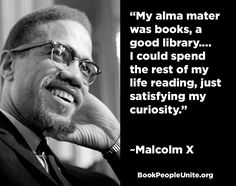 Black History Month--Book People Quote