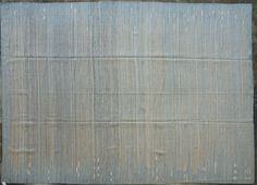 "Modern Handmade Flat-weave Rug; 100% Lamb's Wool; Size 9'9"" x 13'6''; Custom Order Available"