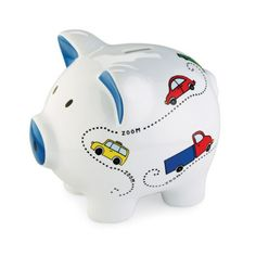 Mud Pie Bank, Zoom Car (Discontinued by Manufacturer) Baby Piggy Banks, Money Bank, Baby Memories, Baby Boy Gifts, Memory Books, Mud Pie, Bedding Shop, Boy Or Girl, Boys