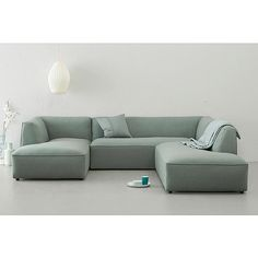 whkmp& OWN Large OWN Hoekbank rechts Town V? Sofa Furniture, Living Room Furniture, Furniture Design, Living Colors, Small Space Interior Design, Couch Set, Luxury Sofa, Modular Sofa, Best Sofa