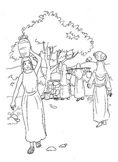 coloring page bible stories kids n fun - Esther Bible Story Coloring Pages
