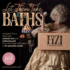 Relax and Unwind with Perfectly Posh FIZI Bath Bombs!  Naturally based, cruelty free, eco friendly, and made in the USA!  Click on the image to order! Bath Boms, Posh Products, Perfectly Posh, Business Ideas, Metals, Skincare, Metal, Skin Care