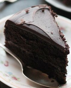 Moist, rich, and delicious dark chocolate cake perfect for any occasion!