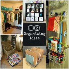I need this! 12 organizing ideas #home #organization