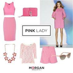 Pink Lady, Facebook 2014, Polyvore, Fashion, Moda, Fashion Styles, Pink Ladies, Fashion Illustrations