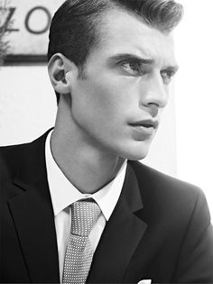 Clément Chabernaud lensed by Karim Sadli and art directed by Franck Durand for De Fursac Spring/Summer 2013 lookbook.