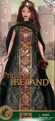 Dolls of the world Barbie - Princess of Ireland 2002