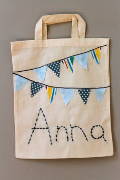 back to school customise bag craft