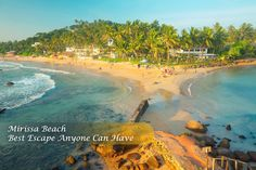 Mirissa Beach Sri Lanka- Beaches stirs the Heart ❤, inspires the Imagination💭 & brings eternal joy to the SOUL😃!
