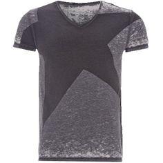 T-Shirt mit Print - Lässiges graues T-Shirt von Replay. Das Shirt hat ein tolles Print und lässt sich super kombinieren. - ab 59,95€