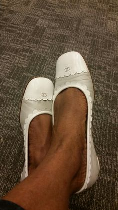 My chanel slipper ... 1st purchase truly addicted
