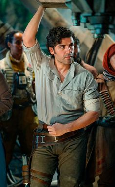 """tinglingpeter: """"Oscar Isaac as Poe Dameron in Star Wars: The Rise of Skywalker """" Star Wars Mädchen, Star Wars Cast, Star Wars Girls, Oscar Isaac, Anakin Vs Obi Wan, Indie, Star War 3, Star Wars Characters, Fictional Characters"""