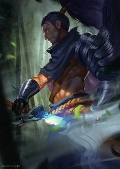 League of Legends,Лига Легенд,фэндомы,Yasuo League Of Legends Yasuo, League Of Legends Game, Cartoon Network Fanart, Epic Characters, Fictional Characters, Samurai Art, Lol, Disney Fan Art, Funny Games