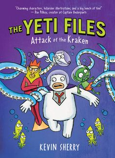 books4yourkids.com: The Yeti Files: Attack of the Kraken by Kevin Sherry, 128 pp, RL 2. 3 books in and still going strong! Love this cryptid packed series!!