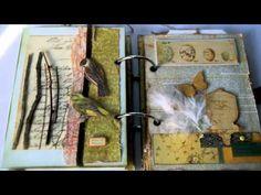 Conservatory Mini Album for watercolors