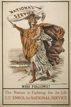 Ismeretlen művész: Who follows? (1916)