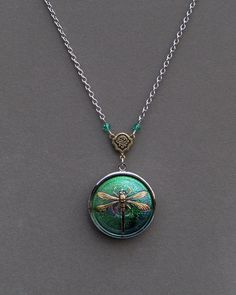I collect lockets.  Etsy. from the shop of envisage.  They have the prettiest necklaces.  Check them out.