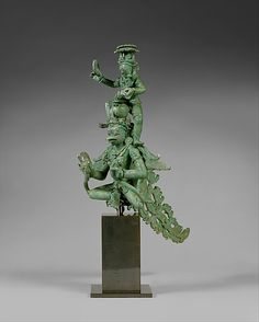 Krishna on Garuda.  Period:     Central Javanese period. Date:     second half of the 9th century. Culture:     Indonesia (Java).