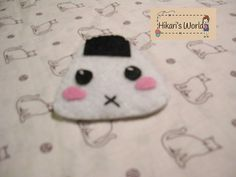Handmade onigiri pin. $2.05