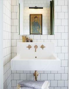 Kohler purist faucet Powder room