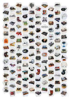A Visual Hi-Fi History of Turntables