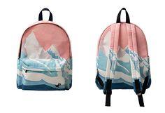 Printed Backpacks ○ Kozy ○ Use 'LittleAlien' to get 10% off!