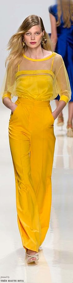 Valentin Yudashkin Spring 2014 Ready-to-Wear