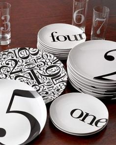 ".pick a number, any number...cute gift to commemorate someone's special ""number"""