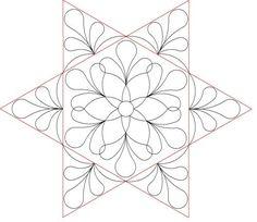 Hexagon plume set