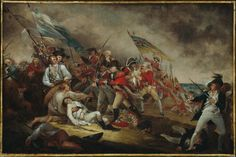 """The Death of General Warren at the Battle of Bunker Hill"" - John Trumbull"
