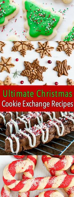 Ultimate Cookie Recipes for a Christmas Cookie Exchange #cookies #christmascookies