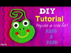 "Como Tejer Bolista en crochet inspirada por ""Hello Kitty"" (Subtitles in English) - Video 2 - YouTube"