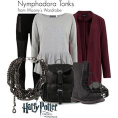 """Nymphadora Tonks"" by evalupin on Polyvore"