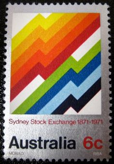 SO MUCH PILEUP: Philately Fridays: Australia 1971 — Designspiration