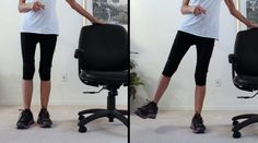 8 Exercises To Relieve Pain In Achy Knees - Fitness With Cindy Knee Arthritis Exercises, Knee Strengthening Exercises, Stretches, How To Strengthen Knees, Senior Fitness, Fitness Tips, Health Fitness, Yoga For Kids, Kid Yoga