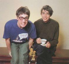 Music Life (Japan), January 1996 Alex James and Graham Coxon